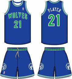 0b138c871cc Minnesota Timberwolves Road Logo on Chris Creamer s Sports Logos Page -  SportsLogos. A virtual museum of sports logos