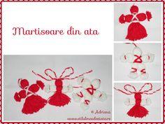 martisoare din ata Tassel Necklace, Tassels, Crafts, Fashion, Atelier, Moda, Manualidades, Fashion Styles, Tassel
