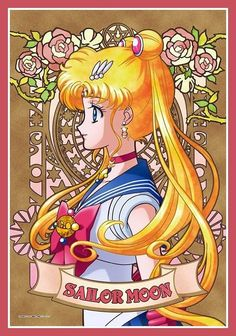 Sailor Moon Crystal Artwork