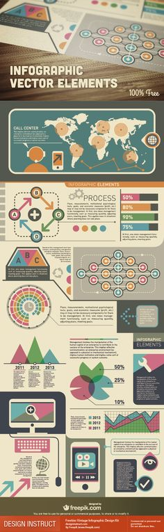 Best Infographic design about Infographic Vector elements. #Infographic #Vector #Design