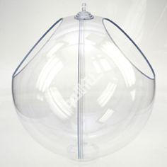 boule présentoir transparente double ouverture - Ballkit