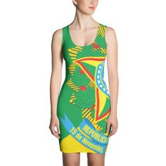 Brazil / Brasil Sublimation Cut & Sew Dress