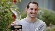 Renaud Lavillenie, premier Français sacré athlète de l'année