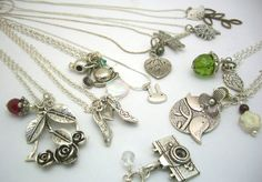 Love these handmade necklaces!