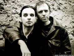 Dave Gahan and Anton Corbijn