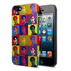 Doctor Who iPhone 5 Hard Snap Case 11th Doctor Warhol Treatment