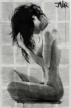 "Saatchi Art Artist Loui Jover; Drawing, ""new season"" #art"