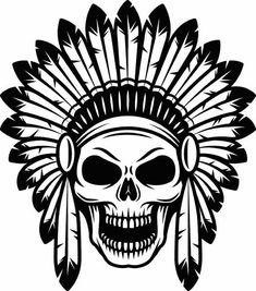 Big Black & White Tribal Skull Temporary Tattoo - Animal Spirit Wild Skull Tribal Temporary Tattoo C Tattoo Design Drawings, Skull Tattoo Design, Tattoo Sketches, Art Sketches, Art Drawings, Drawings Of Skulls, Tattoo Designs, Halloween Tattoo, Halloween Drawings
