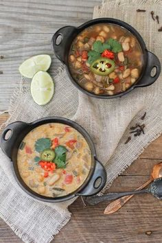 Chickpea and White Bean Chili Very good! No need for cream or cheese, very good without and it makes it vegan (even samer did not want to add cheese or cream!)