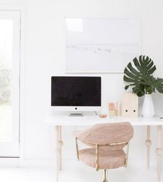 Home Office Design Ideas For Small Spaces Bright White Office