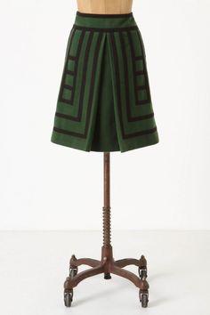 Anthropologie. Tsuga Skirt (back)