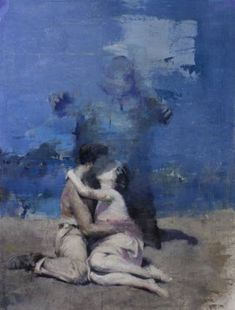 "Saatchi Art Artist Julien Spianti; Painting, ""Ils veillent (they're watching)"" #art"