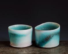 """Contemporary - """"Porcelain Centerpiece"""" (Original Art from Bianka Groves)"""