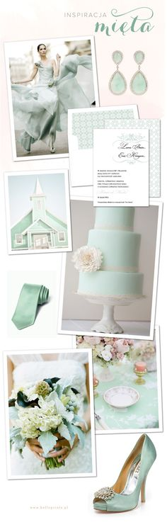 Mint green wedding inspiration.  Jen Antoniou Weddings and Events www.jenantoniouweddings.com events@jenantoniouweddings.com 707-992-5872