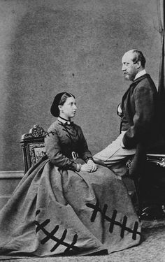 Hills & Saunders - Princess Helena and Prince Christian of Schleswig-Holstein