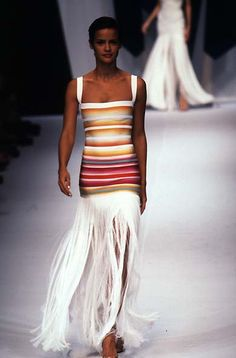 Herve Leger - Ready-to-Wear - Runway Collection - Women Spring / Summer 1997