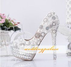 Bridal Wedding Shoes High Heels 2013-2014 | Latest Wedding Trends