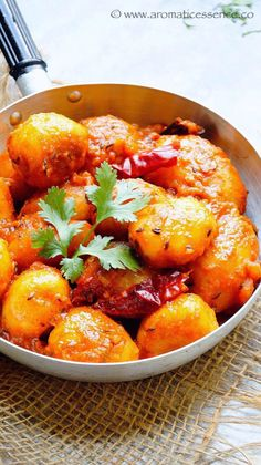 Hello everyone! Hope everyone is doing good! Festive season has begun in India, and currently Navratri is going on. Navratri literally translates to 'nine nights'.Itis a Hindu festival where people across the country worship different avatars of goddess Durga. Today I have a traditional Bengali dish to share with you guys- Alur Dum.Stir-fried baby potatoes are simmered in a thick curry consisting of tomatoes and aromatic spices. It is spicy, well balanced and delicious. Traditional...