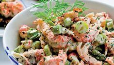 Fresh Rolls, Fish Recipes, I Foods, Pasta Salad, Tapas, Shrimp, Seafood, Food Porn, Food And Drink