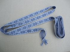 Inkle Band Weft End Secure