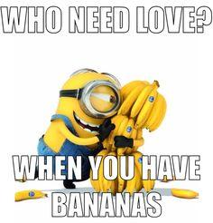 WHO NEED LOVE?