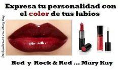 Lápiz cremoso red y Brillo de Labios NouriShine Plus Rock'n' Red