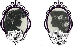 Ariel & Rapunzel tattoo. beautiful design! Disney Princesses