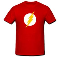 The Flash Logo T-shirt - Blasted Rat