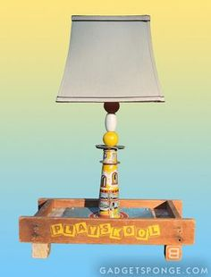 Two repurposed element lamps! - JUNKMARKET Style