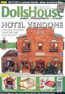 Dollhouse and miniature scenes magazine
