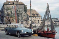 """mesmomeugenero: """"Citroën ID Familiale """" Boat. Wagon. Done."""