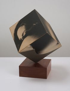 """Robert Heinecken, Figure Cube, in """"Photography into Sculpture"""" at Cherry and Martin A Level Photography, Photography Themes, Photography Exhibition, Photography Projects, Contemporary Sculpture, Contemporary Art, Photo Sculpture, Collaborative Art, Photo Projects"""