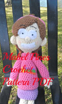 PATTERN Mabel Pines from Gravity Falls CROCHET by SweetPeaCove, $6.00