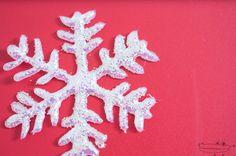 Como hacer un copo de nieve con silicona