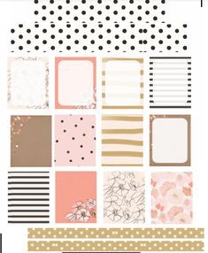 Spring Patterns Free Planner Printable - check my board for tons of freebies!