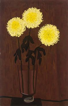 "John BRACK (Australian, 1920-1999) - ""Chrysanthemums"", 1958"
