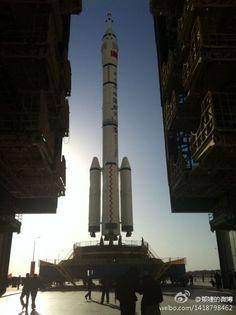 #china #CZ2F #rocket #Shenzhou8 #pad