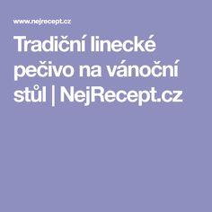 Tradiční linecké pečivo na vánoční stůl | NejRecept.cz