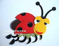 Creations on Paper: Love Buggy Punch Art - Class