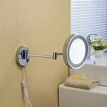 """Il trasporto libero 8 """"a parete rotondo un lato specchio del bagno led specchio per il trucco cosmetico della signora privato specchio 1238(China (Mainland))"""