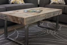 15 Fabulous DIY Coffee Table Design Ideas For Beauty Living Room - Home and Camper