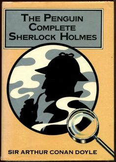 This is my copy of the Penguin Complete Sherlock Holmes that I read while at Polytechnic and on trains and buses at the time