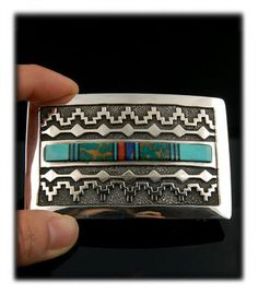 Artisan Belt Buckles by Durango Silver Company