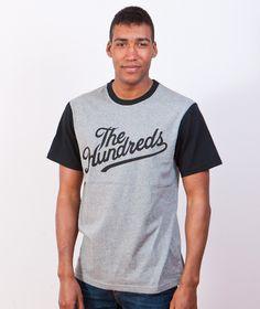 The Hundreds-T-Shirt Conrad Tee Athletic Heather | KATEGORIE \ T-SHIRT \ KRÓTKI RĘKAW THE HUNDREDS \ T-SHIRT \ KRÓTKI RĘKAW