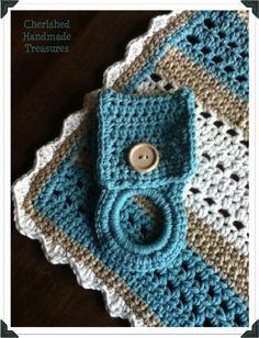 Easy #Crochet Dish Cloth | Cherished Handmade Treasures
