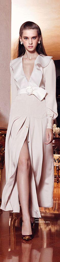 Alessandra Rich Spring Summer 2015 Ready-To-Wear Spring Summer 2015, Spring Summer Fashion, Event Dresses, Elegant Woman, Beautiful Gowns, High Fashion, Women's Fashion, Ready To Wear, Formal