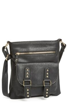 Under One Sky Studded Crossbody Bag (Juniors) available at #Nordstrom