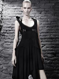 Publication:Forget Them  Issue:#1 Winter 2011  Title:Beyond The Darkness  Model:Ksenia Malanova  Photography:Angela Improta  Styling:Luca Stefanelli