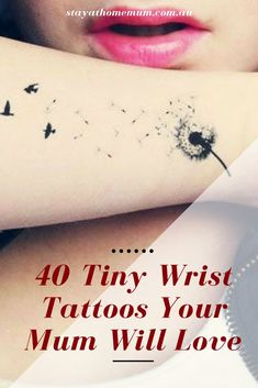 Here's a rundown of the 40 dainty and cutesy wrist tattoos that we adore!