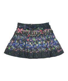 Navy Tata Skirt - Infant, Toddler & Girls